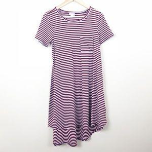 Lularoe • Carly S Striped Dress • XXS
